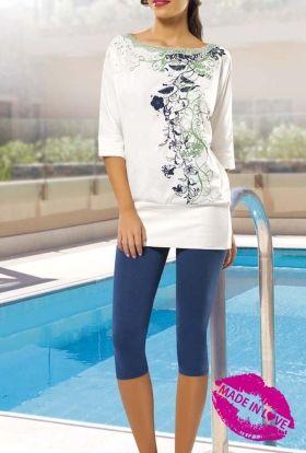 Made In Love Kapri Pijama Takım Ml29142pt,Made In Love Kapri Pijama Takım Ml29142pt-İç giyim ve giyimde aracısız satış noktası, fırsat ürünl...