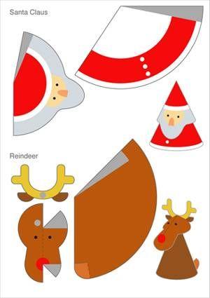 Des déco de Noël en papier #deconoel #decorationnoel