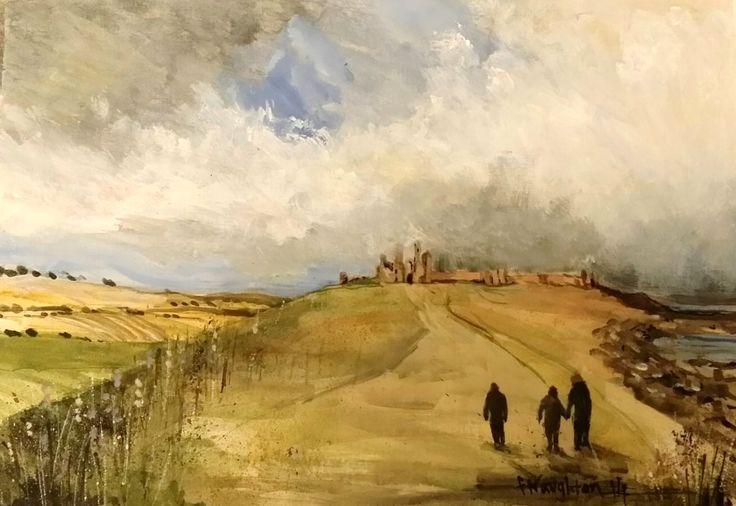 Coastal path to Dunstanburgh