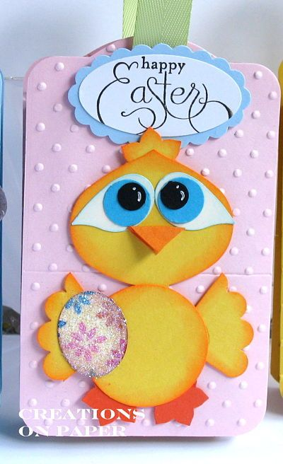 Creations on Paper: Easter Pals: Chickee-Dee Punch Art