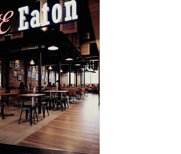 EATON Restaurant @One Belpark by MODERNSPACE  modernspacedesign.com