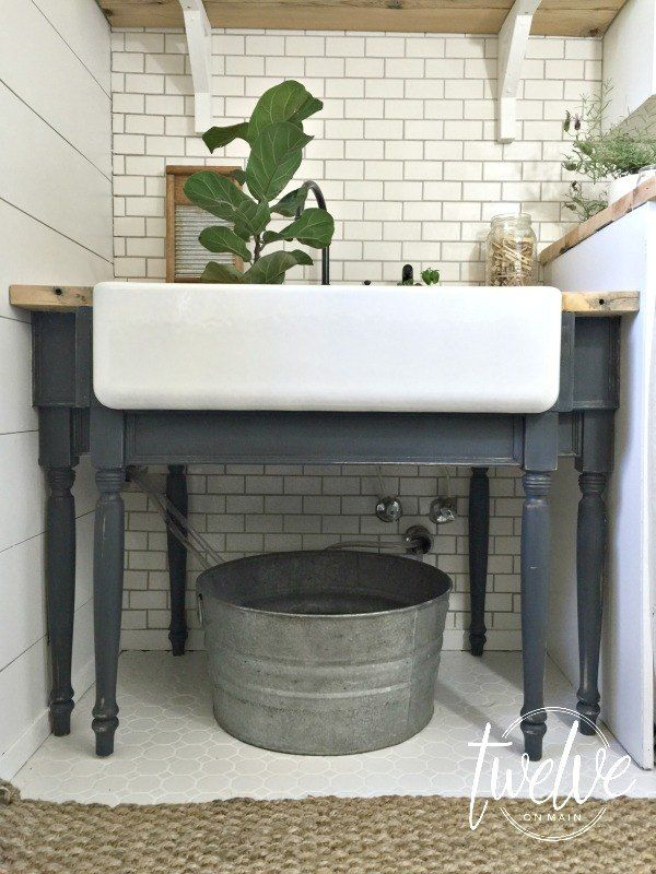 Farmhouse Laundry Room Reveal Best 127 Home
