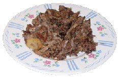 Barbacoa de Cabeza is a slow cooked dish prepared with parts from the head of a cow, such as the cheeks. Popular in South Texas, I've adapted the dish to be cooked using your Slow Cooker, Pressure Cooker, or Smoker/Oven Combo to create this tasty dish.