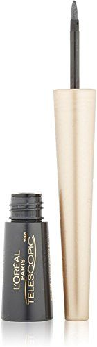 Special Offers - LOreal Paris Telescopic Precise Liquid Eyeliner Charcoal [820] 0.08 oz (Pack of 12) - In stock & Free Shipping. You can save more money! Check It (November 26 2016 at 05:07AM) >> http://beautymakeup4me.com/loreal-paris-telescopic-precise-liquid-eyeliner-charcoal-820-0-08-oz-pack-of-12/