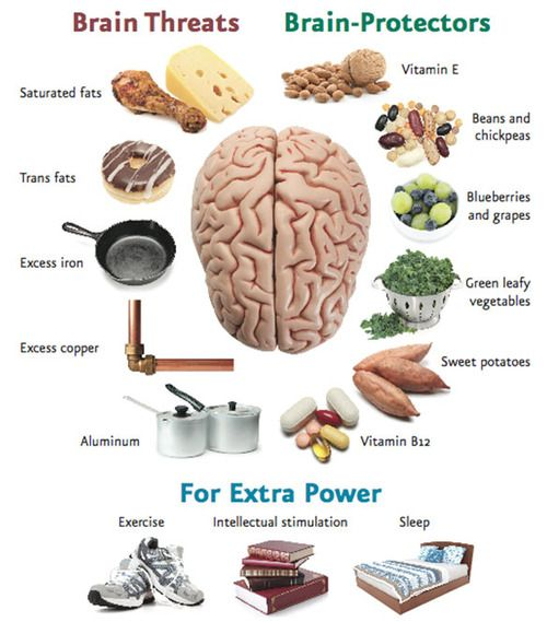 Pick the right foods and keep your brain healthy in old age