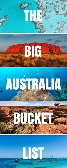 With over 100+ Things To Do in #Australia - plus awesome experiences & incredible places to see, this is the only Australia Bucket List you'll ever need! *** Australia   Things to do in Australia   Where to go in Australia   Top experiences in Australia   Sydney   Melbourne   Perth   Darwin   Cairns   Queensland   New South Wales   What to do in Australia   Places to visit in Australia   National Parks in Australia   #thingstodoinaustralia #BucketList