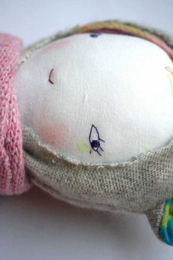 LISTA reservada de Svea muñeca de trapo hecha a mano muñeca