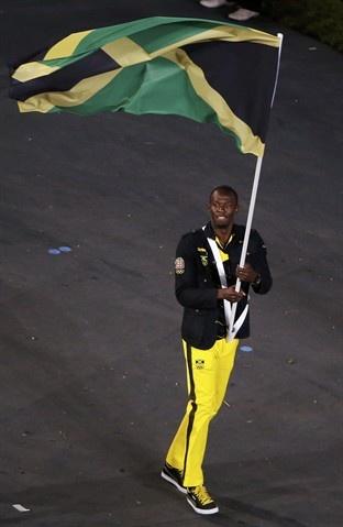 Usain Bolt: Flag Bearer - London Olympics 2012