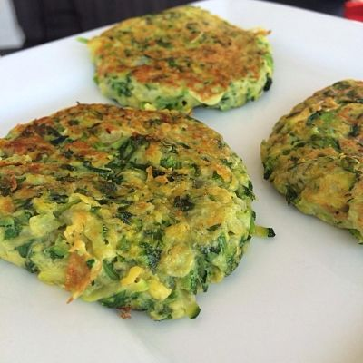Ripped Recipes - Yummy Zucchini Patties - A very healthy and quick lunch idea recipe for the entire family.