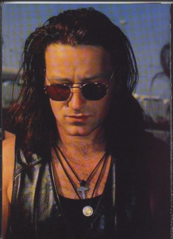 Totally not a formative masculine figure in my life. Bono Rattle and Hum, Desire (1988)
