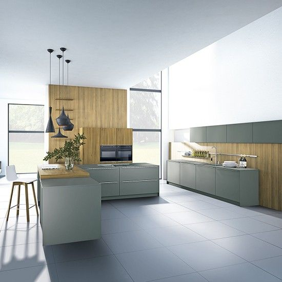 Grey kitchen   Kitchen   PHOTO GALLERY   Beautiful Kitchens   Housetohome.co.uk
