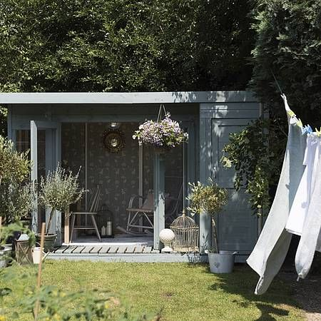 25 best ideas about contemporary sheds on pinterest for Garden office with side shed