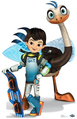 Miles and MERC - Miles from Tomorrowland Lifesize Cardboard Cutout