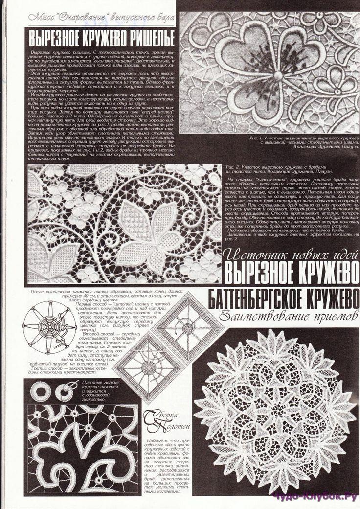 Цветы Узоры   ЧУДО-КЛУБОК.РУ