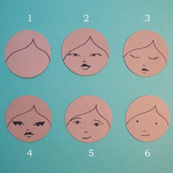 peg doll faces