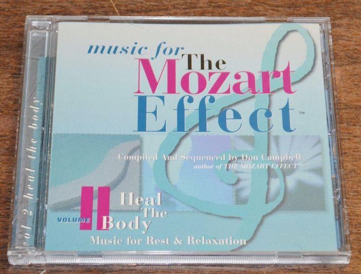 Wolfgang Amadeus Mozart - Mozart Effect Vol 2 (1998) CD