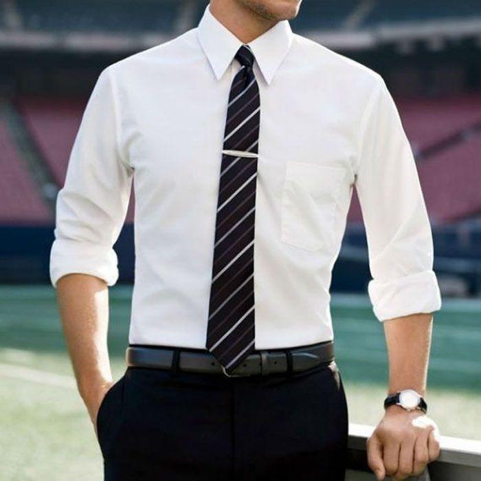 Moda masculina: Camisa social não é tudo igual, se liga!                                                                                                                                                                                 Mais
