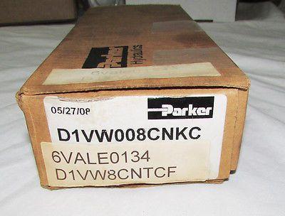 Parker Hydraulics D1VW008CNTCF Hydraulic Valve 240-220V 60-50Hz .22-.26A 5000PSI