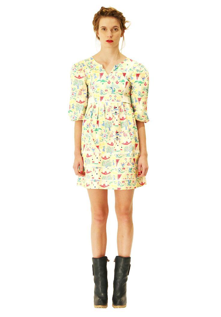 Pilvi dress. Shop: http://shop.ivanahelsinki.com/collections/dresses/products/pilvi