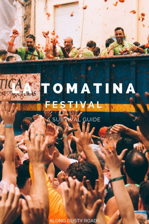 Thinking of heading to La Tomatina? Here's everything you need to know about this crazy Spanish festival! Spain Travel | La Tomatina | Festival | Tomato throwing festival | Valencia #Spain #LaTomatina #Valencia