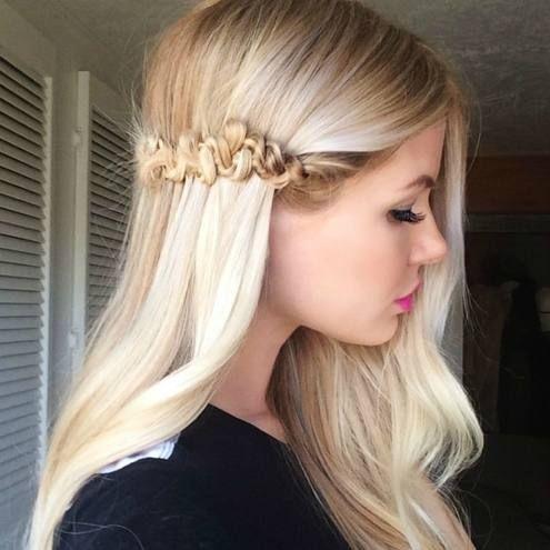 Blonde Snake Braid