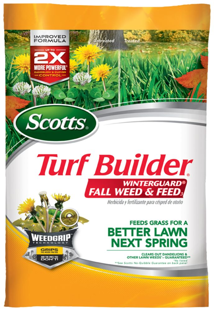 Scotts Turf Builder Winterguard Fall Weed and Feed-Lawn Care-Scotts