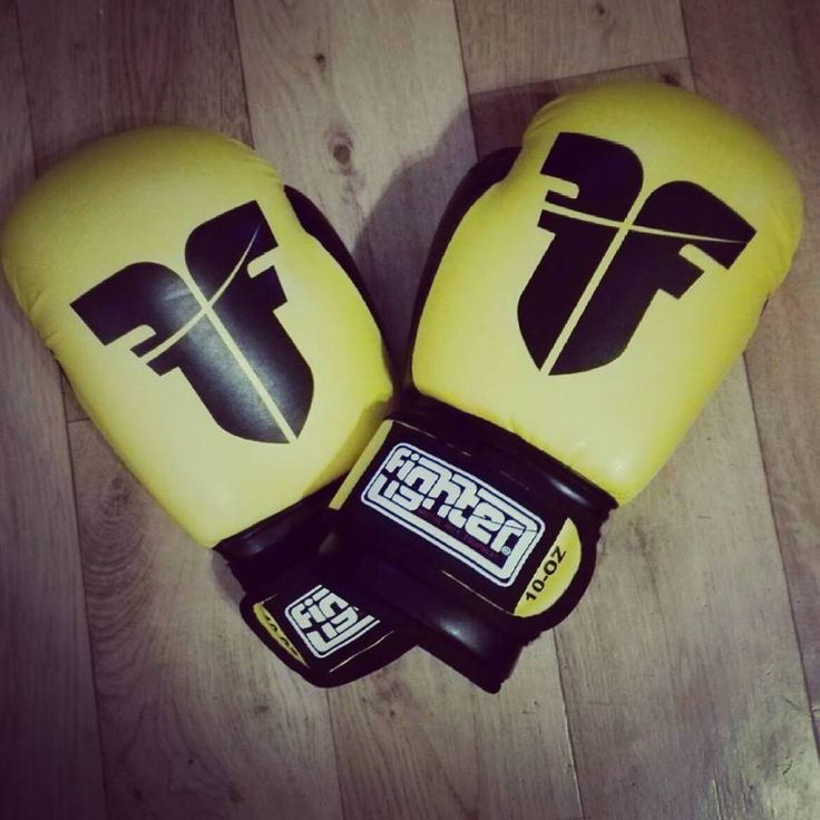 My new boxing gloves :)