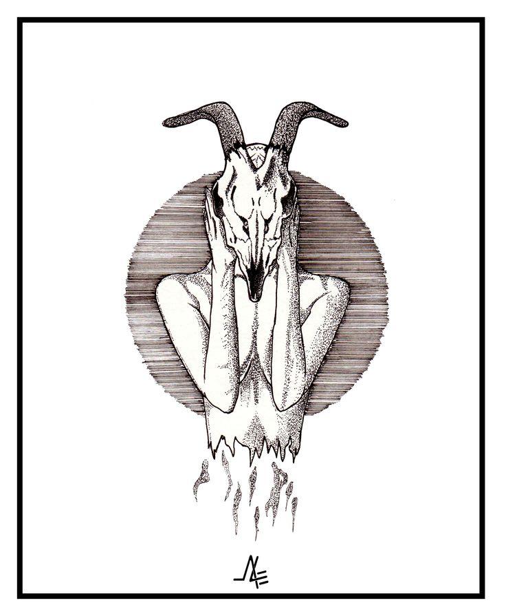 ''faceskull illustration''