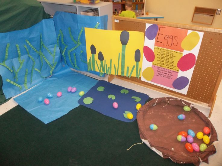 dramatic play-pretend to be animals that hatch from eggs ...