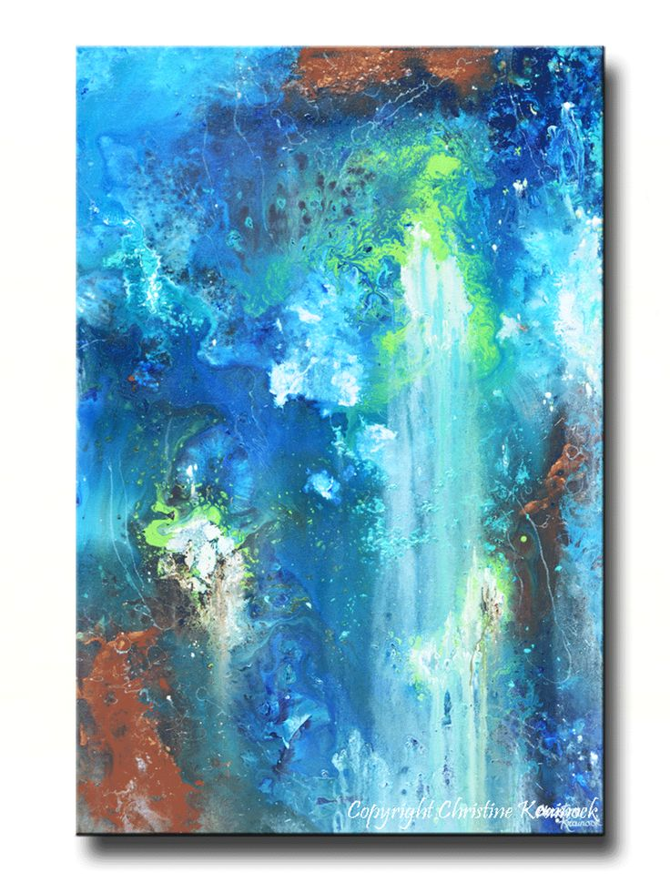 Best 25 blue abstract painting ideas on pinterest blue for Abstract painting on black canvas