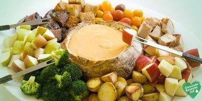 Käsefondue ohne Alkohol, low carb Diät rezept