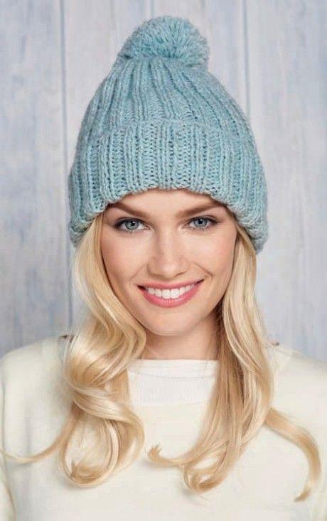 Beautiful Bobble Hats | Easy knit hat, Knitting patterns ...