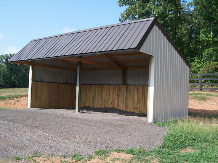 50 best tractor sheds images on pinterest container for Tractor garage plans
