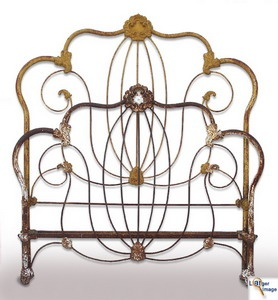 wrought iron bed - Wrought Iron Bed Frames