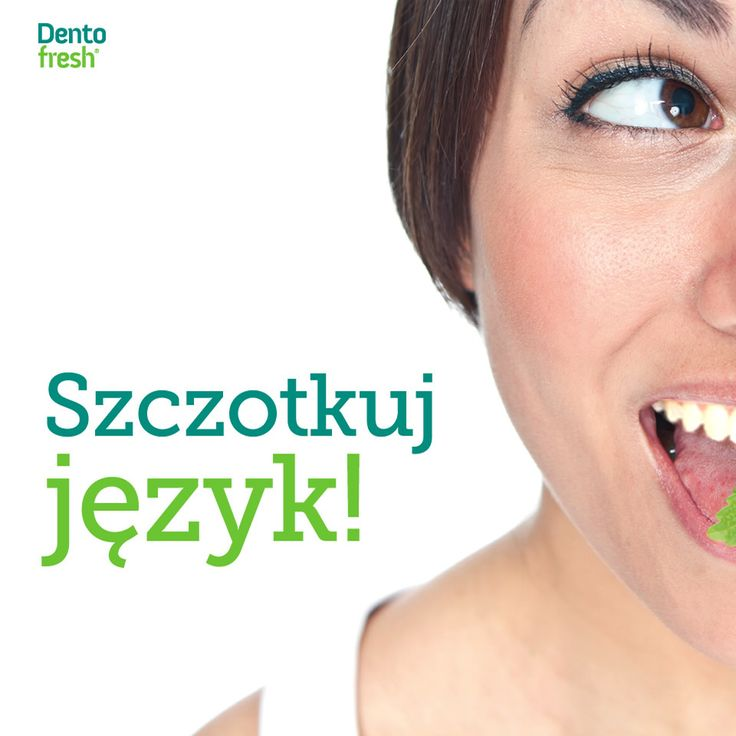 W codziennej higienie jamy ustnej równie ważne jak szczotkowanie zębów jest regularne czyszczenie języka! To na nim gromadzą się szkodliwe bakterie, które bardzo łatwo przenikają na powierzchnię sąsiednich zębów i dziąseł! #dentofresh #dobrarada