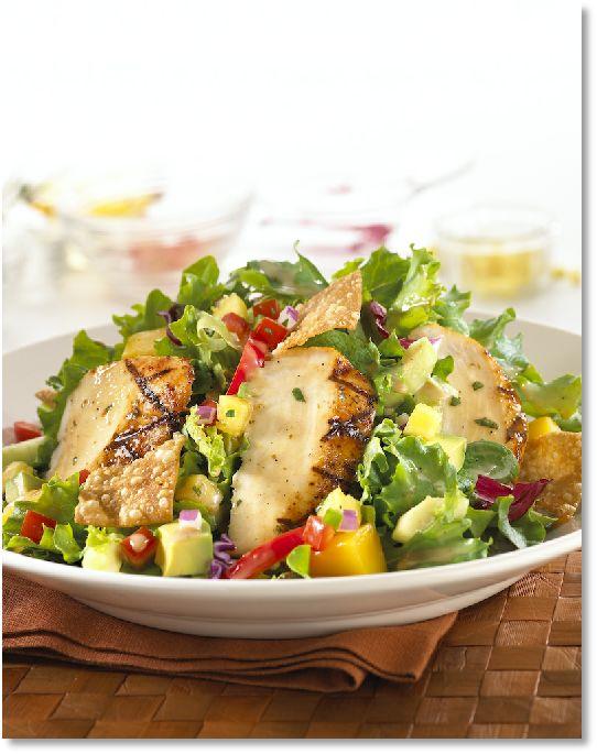 Low FODMAP Chicken and pineapple salad -  gluten free http://www.ibssano.com/low_fodmap_recipe_chicken_pineapple_salad.html