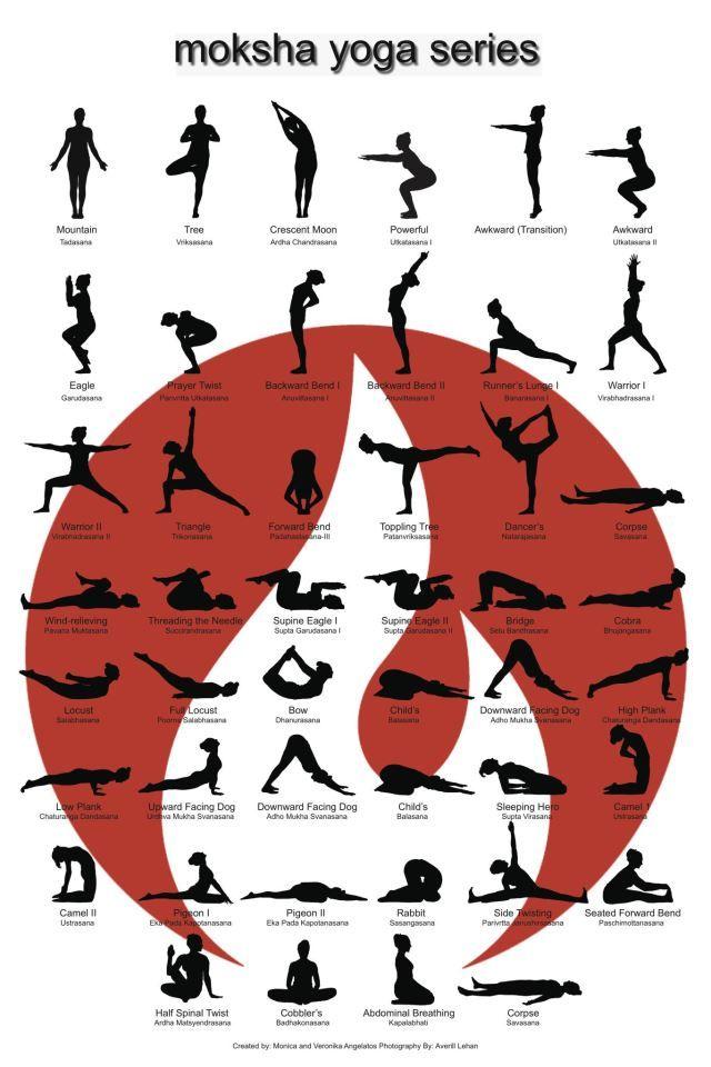 moksha yoga sequence