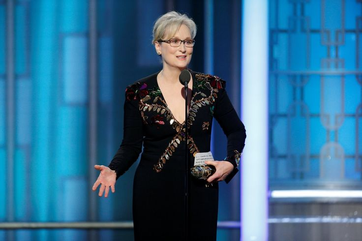 The 2016 performance that most stunned Streep, she said, was delivered by the president-elect. (Full speech)