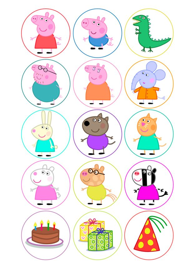 Ver producto: Modelo nº 351: Peppa Pig