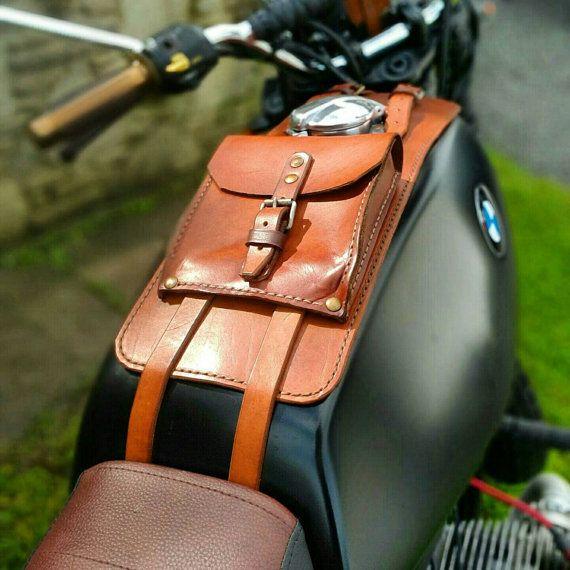BMW r45 r65 r80 r100 série cuir sacoche ceinture et par maxakaido