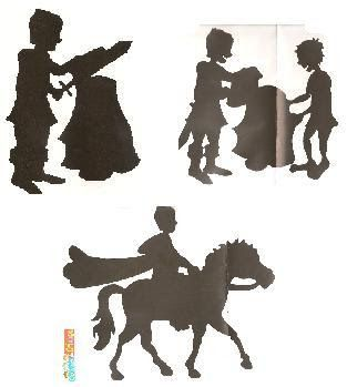 Educar e brincar: Sombras chinesas da lenda de S. Martinho