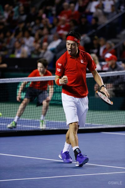 Davis cup 2015 vs. Canada (Milos Raonic)