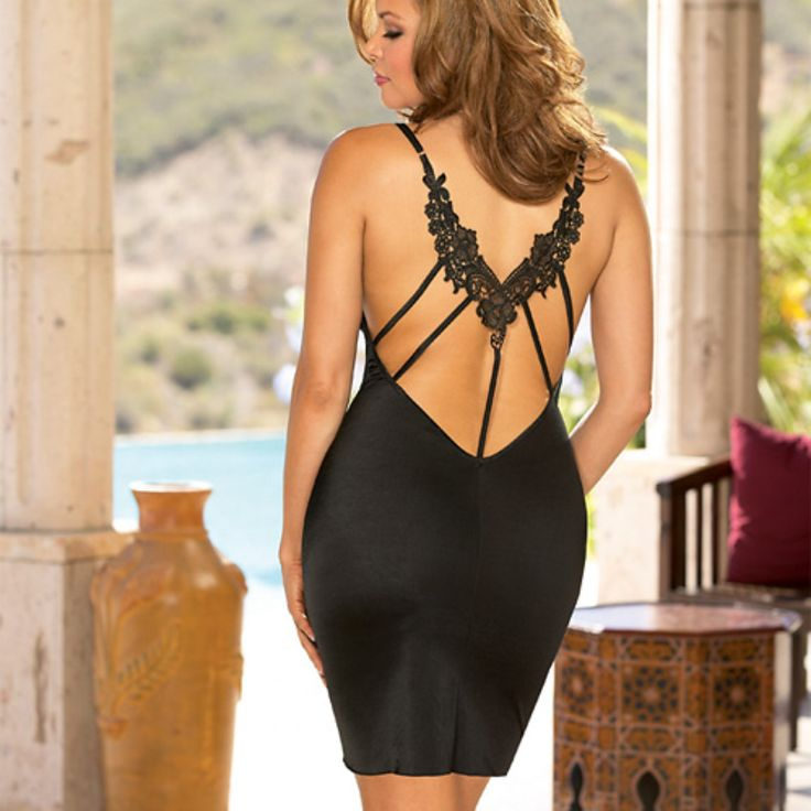 Beautiful black back detail dress.  Inspiration for weight loss!!