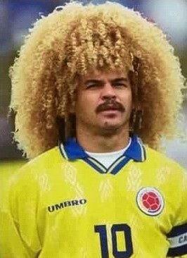 Carlos Valderrama | 27 Worst Haircuts In Soccer