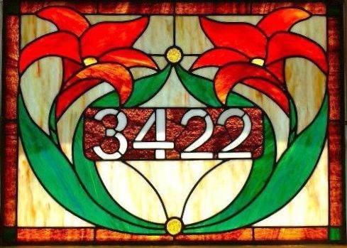 This would be pretty and no one would miss my place. custom stained glass picture window - Google Search