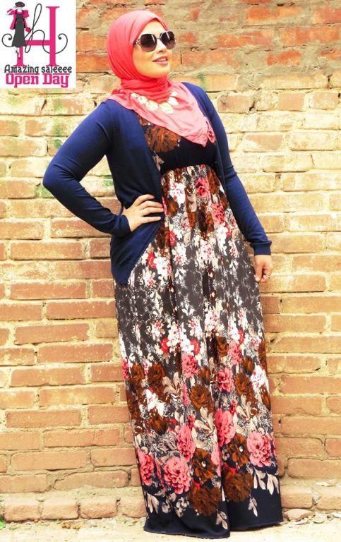 hijab summer wear maxi dress Amazing casual wear http://www.justtrendygirls.com/amazing-casual-wear/