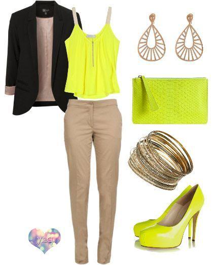 beige neon