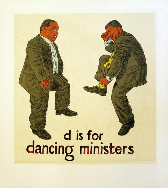 D is for Dancing Ministers - Anton Kannemeyer