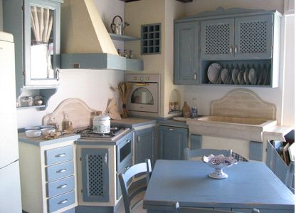 Cucina in muratura realizzata da casaCamil Interni