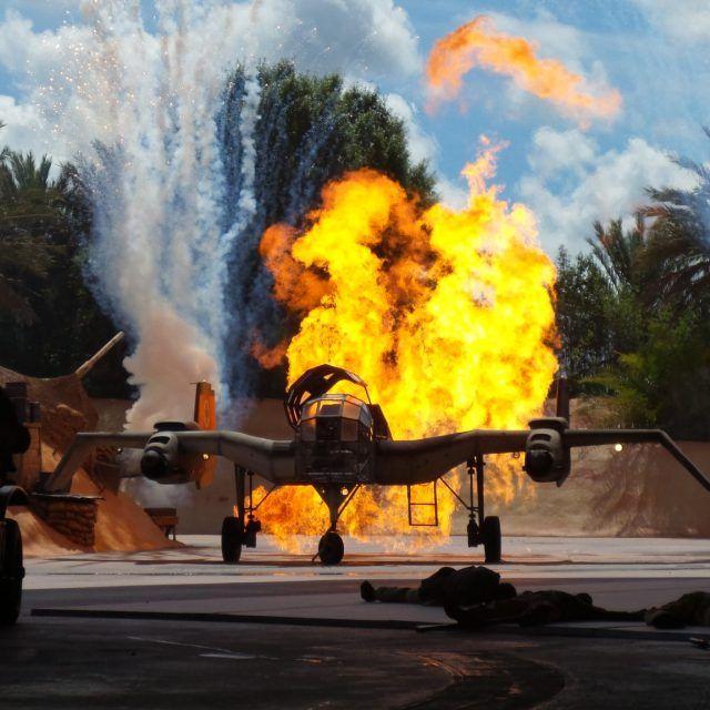 Indiana Jones Epic Stunt Spectacular! Disney's Hollywood Studios at Walt Disney World in Orlando, Florida, USA